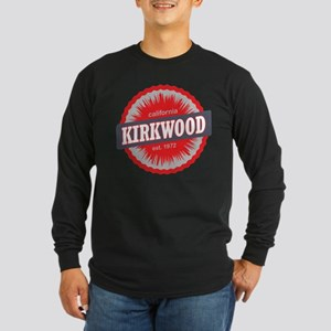 Kirkwood Mountain Ski Resort California Red Long S