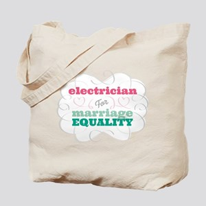 Electrician for Equality Tote Bag