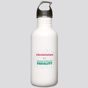 Electrician for Equality Water Bottle