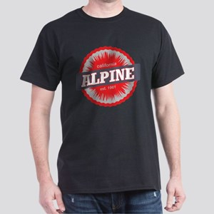 Alpine Meadows Ski Resort California Red T-Shirt