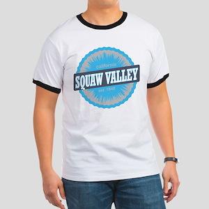 Squaw Valley Ski Resort California Sky Blue T-Shir