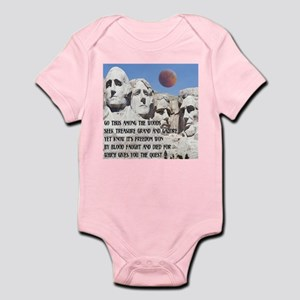 Mt. Rushmore The Quest Infant Bodysuit