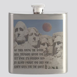 Mt. Rushmore The Quest Flask