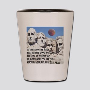 Mt. Rushmore The Quest Shot Glass