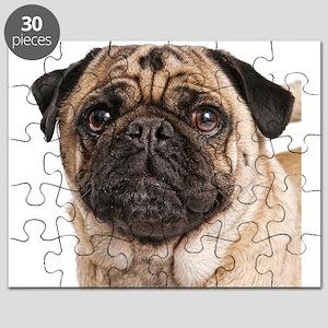 Pug Close-Up Puzzle