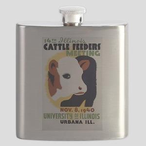 Illinois Cattle Feeders Meeting Flask