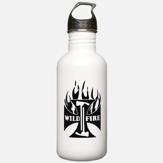 Wild Fire IRON CROSS Pulaski Water Bottle