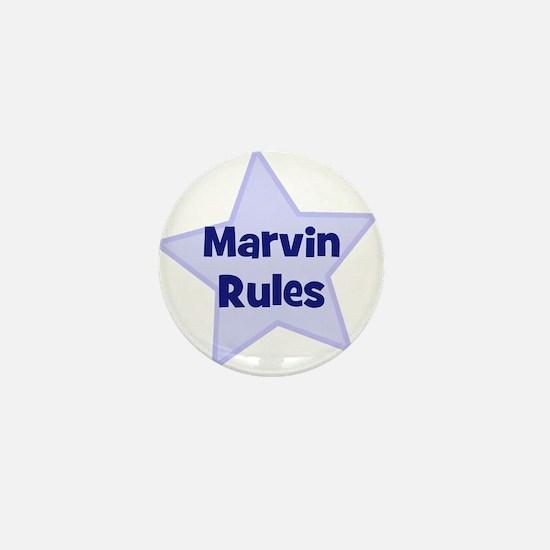 Marvin Rules Mini Button
