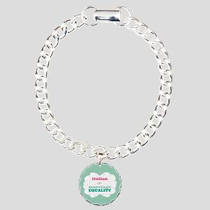 Italian for Equality Bracelet