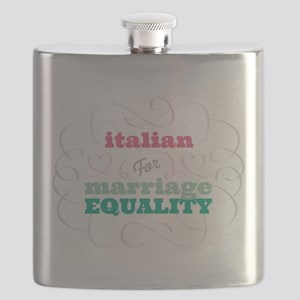 Italian for Equality Flask