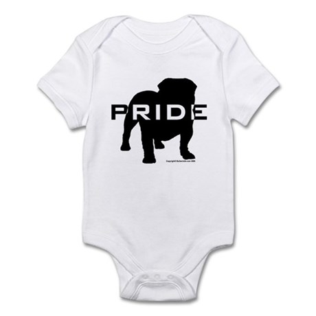 Bulldog Pride Logo Infant Bodysuit
