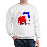 USA Bulldog Sweatshirt