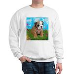 Puppy Dream Meadow Sweatshirt