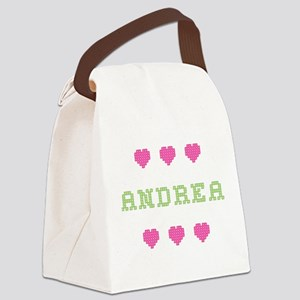 Andrea Canvas Lunch Bag