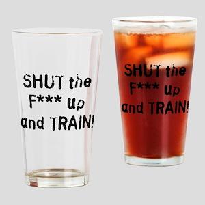 stfu2clean Drinking Glass
