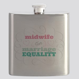 Midwife for Equality Flask