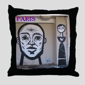 Wall spray painting art in Paris (Seine) 11 Throw