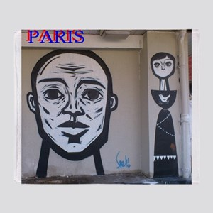 Wall spray painting art in Paris (Seine) 11 Throw