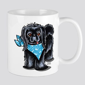Black Pekingese Boy Mug