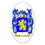 Bousquet Sticker (Oval 50 pk)
