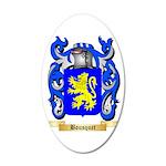 Bousquet 35x21 Oval Wall Decal