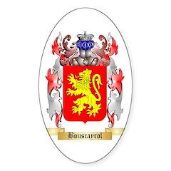 Bouscayrol Sticker (Oval)