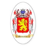 Bouscatier Sticker (Oval)