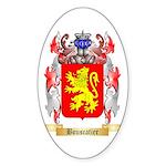 Bouscatier Sticker (Oval 50 pk)
