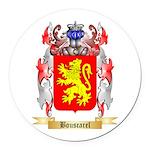 Bouscarel Round Car Magnet