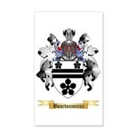 Bourtoumieux 35x21 Wall Decal