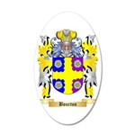 Bourton 35x21 Oval Wall Decal