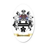 Bourthoumieux Oval Car Magnet