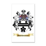 Bourthoumieux Rectangle Car Magnet