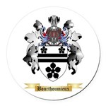 Bourthoumieux Round Car Magnet