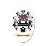 Bourthoumieux 35x21 Oval Wall Decal