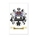 Bourthoumieux 20x12 Wall Decal