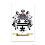 Bourthoumieux 35x21 Wall Decal