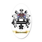 Bourthouloume Oval Car Magnet
