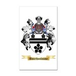 Bourthouloume Rectangle Car Magnet