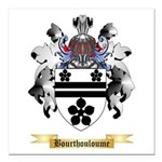 Bourthouloume Square Car Magnet 3