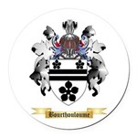Bourthouloume Round Car Magnet