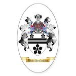 Bourthouloume Sticker (Oval 10 pk)