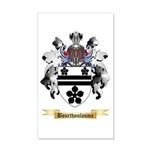 Bourthouloume 20x12 Wall Decal