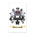 Bourthouloume 35x21 Wall Decal