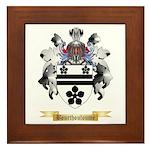 Bourthouloume Framed Tile