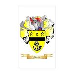 Bourn Sticker (Rectangle 50 pk)