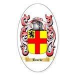 Bourke Sticker (Oval 10 pk)