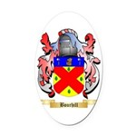 Bourhill Oval Car Magnet