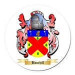 Bourhill Round Car Magnet