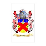 Bourhill Sticker (Rectangle 50 pk)